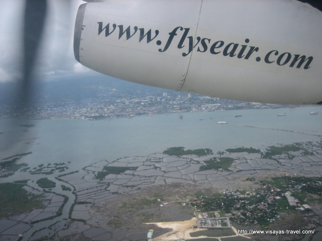 Flight over the Visayas
