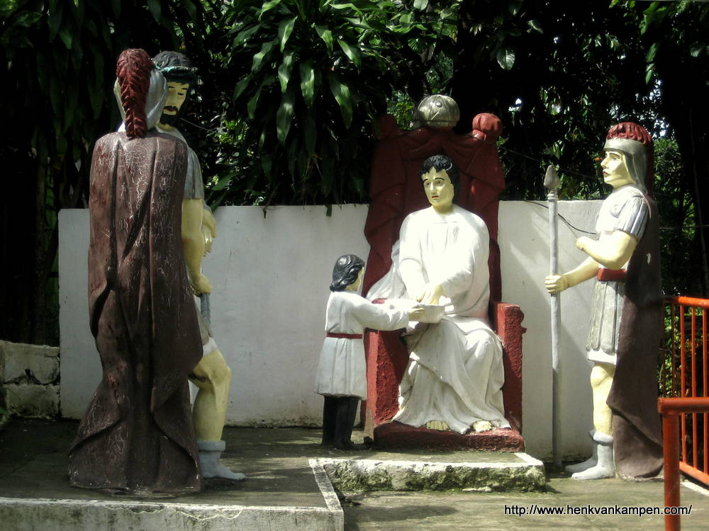Jesus is condemned to death - Stations of the Cross, Tacloban City