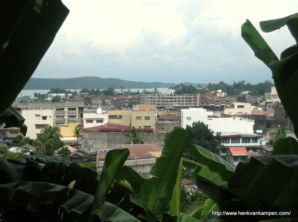 View from Calvary Hill over Tacloban City