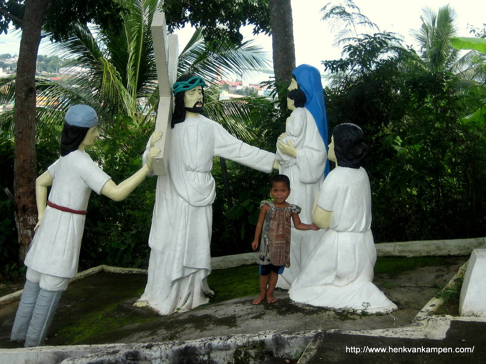Jesus meets the daughters of Jerusalem - Stations of the Cross, Tacloban City