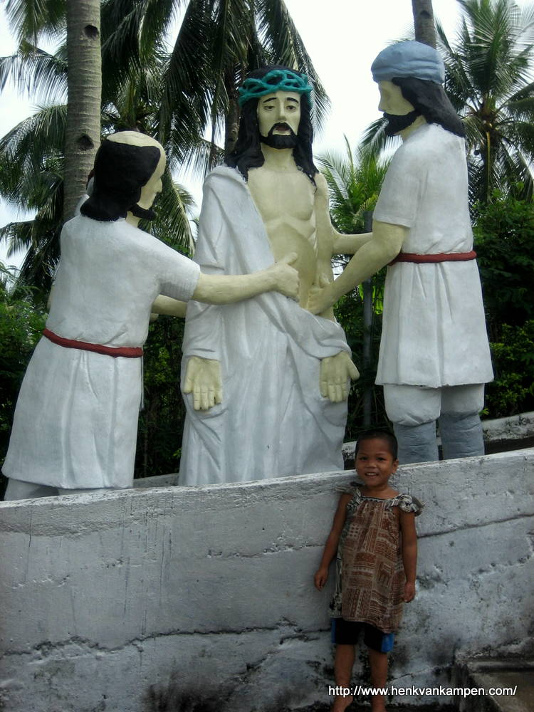Jesus is stripped of His garments - Stations of the Cross, Tacloban City